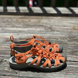 Keen hiking/trail Whisper Sandals size 9.5